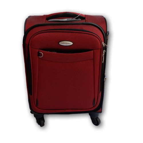 100% authentic Buy Authentic big discount Samsonite Maroon Trolley Bag