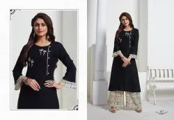 Regular Kurti With Palazzo
