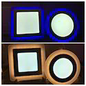 Multi Colour LED Panel (2 in 1 Panel)