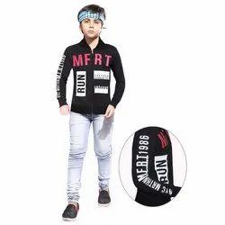 3-15 Years Casual Wear Kids Full Sleeve Jacket, Packaging Type: Packet