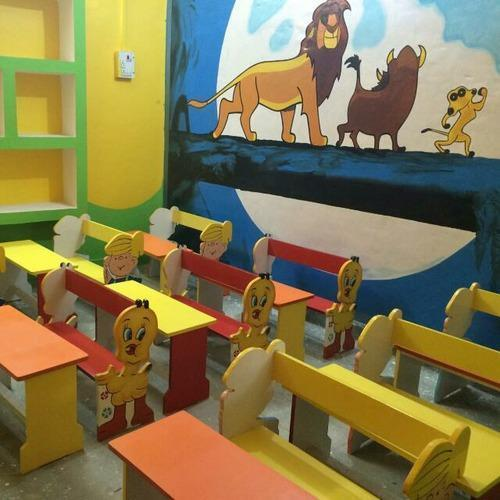 School Desk Kindergarden Desk Play School Desk Playway School