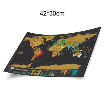 Erase Black World Map Scratch Off World Map At Rs 650 Nos World
