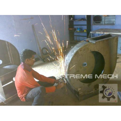 Steel 3500 Rpm Air Blowers For Scrubber