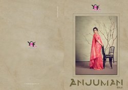 Anjuman Silk Kanjivaran Art Silk Saree By Yadu Nandan Fashion