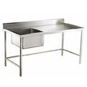 SS Kitchen Work Table With Sink