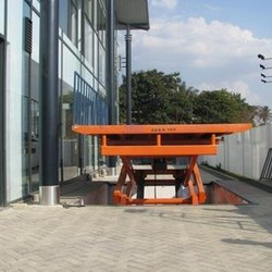 Scissor Type Plate Table Lift