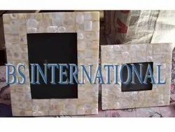 White Shell Photo Frame, For Decoration, Size: 7x5
