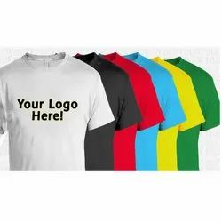 Polyester Multicolor T Shirt Printing Service, in Pan India