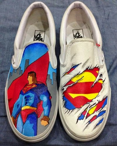 Custom Painted Shoes, New Items in