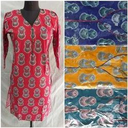 Sleeve Cotton Kurta