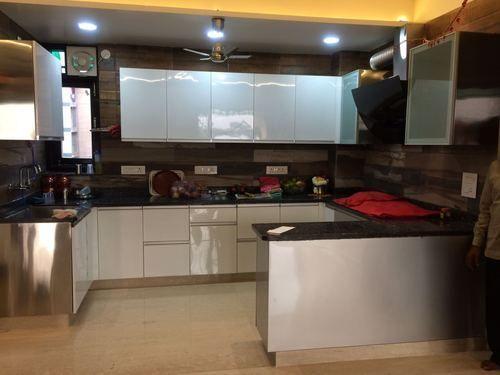 Breakfast Counter Stainless Steel Kitchen