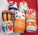 100 Ml Printed Ceramic Tea Cup, Packaging Type: Carton Box