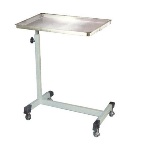 Over Bed Table Mayo Instrument Trolley Exporter From Ambala