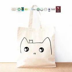 Fair Trade Organic Cotton Shopping Bag