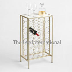 Marble and metal european style Accent table