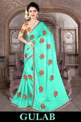 Right One Gulab Stylish Party Wear Chiffon Saree