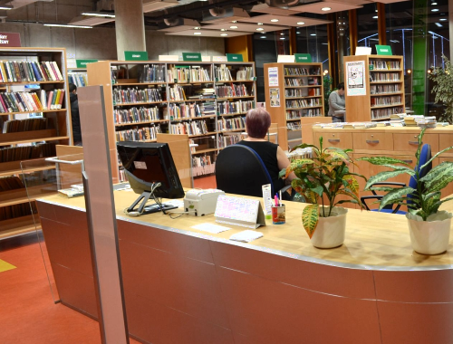 background of library management system