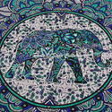 Mandala Cotton Yoga Mat