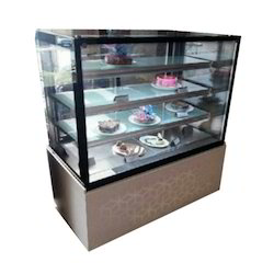 Flat Glass Cakes Display Counter