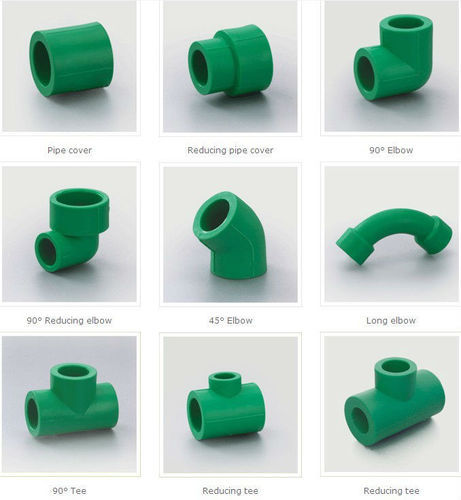 PPR Pipe Fitting For Pneumatic Connections, Size: 1/2 & 3/4