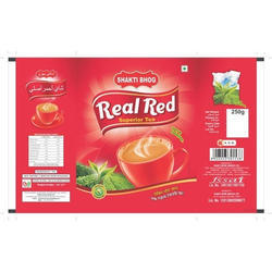250g Laminated Tea Packaging Pouches