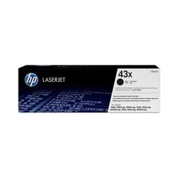 HP 43X High Yield Black Toner Cartridge