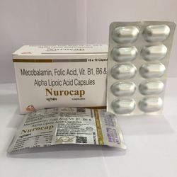 Methycobalmin Folic Acid Vitamin B1 Capsule