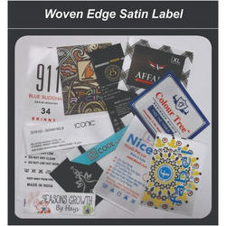 Woven Edge Satin Label