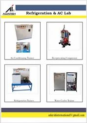 Refrigeration & AC Lab Equipment