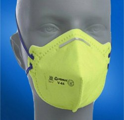 Polyester Anti-Pollution V-44 Venus Safety Mask, For Pharma Industry, Large