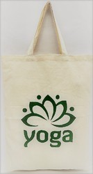 Cotton Bag Yoga lotus Print