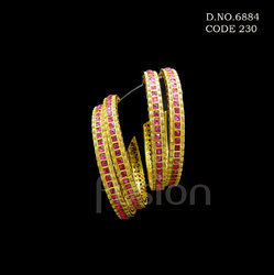 Designer Polki Wedding Bangle