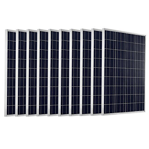 1 Kw Home Solar Panel Size 65 X 39 Inch Rs 35 Watt Rg Power Solutions Id 20291463433