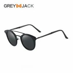 Round Metal Polarised Sunglasses