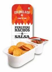Peri Peri Nacho Chips With Tomato Salsa Dip - Colonel And Co