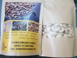 Diya White Cashew Nut W240, Packaging Type: Tin, Packaging Size: 10 Kg