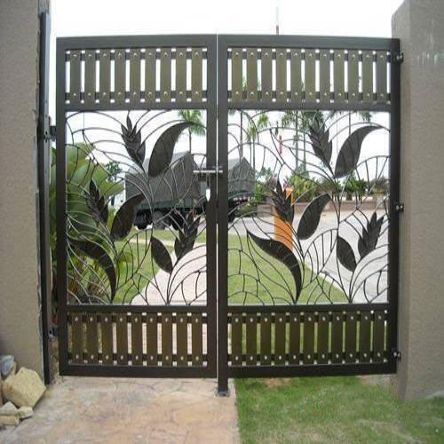 Stainless Steel Steel Double Door Gate Rs 450 Square