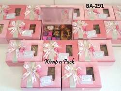 Baby Announcement Gift Box for chocolate, cookies, cake