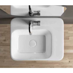 Ceramic White Cessare Wall Hang Basin
