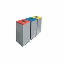 S/Steel Square Open Bin EFD-602