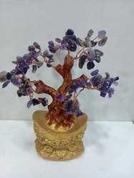 Home Decorate Stone Amethyst Tree