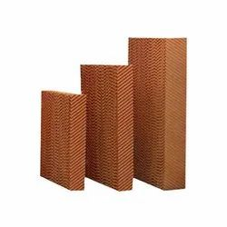 100 Mm Brown Poultry Cooling Pads