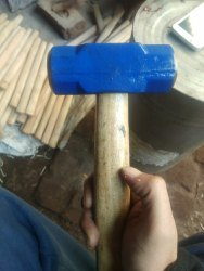 cutwud Wooden Handle Drop Forged Sledge Hammer 1lb, Model Name/Number: Mk 667