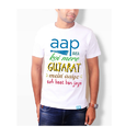 Cotton Round Printed Election T-shirt