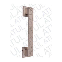 Zinc Wooden Door Pull Handle