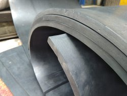 Plain Pulley Lagging Rubber Sheet