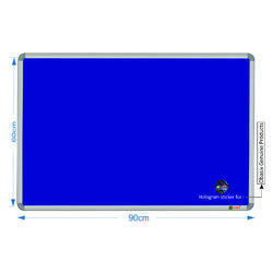 Spbb6090 Blue Notice Board