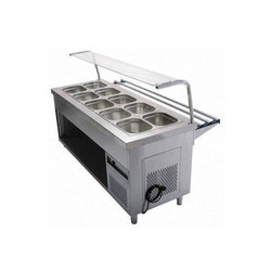 Cold Bain Marie With Pick Up Counter