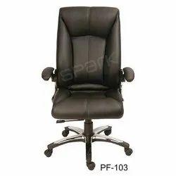 PF-103 High Back Black Chairman Chair