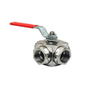 Shenco SS Ball Valve Flange End